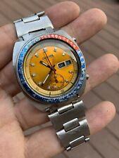 Vintage Seiko Chronograph Automatic 6139-6002 POGUE Yellow