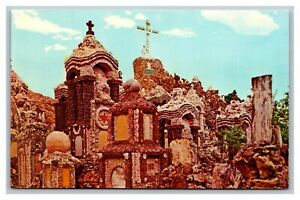 West Bend, IA, Iowa, Grotto of the Redemption, Chrome Postcard