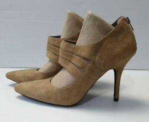 Mollini New Women's Kid Suede Heel Shoe's Size 40 R.R.P $138
