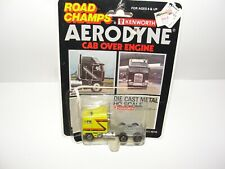 Road Champs KENWORTH AERODYNE  COE CAB OVER ENGINE Yellow HO Yatming JRI #6510