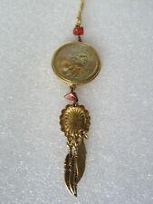 Native American Sacajawea 2000 Philadelphia US Mint One Dollar Coin Necklace