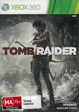 Tomb Raider, Xbox 360 game complete, Used