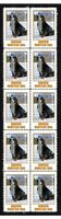 BERNESE MOUNTAIN DOG STRIP OF 10 MINT VIGNETTE STAMPS #5