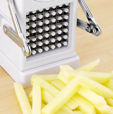 NEW POTATO CHIPPER FRENCH FRIES CHIP CHOPPER VEGETABLE CUTTER SLICER KITCHENWARE