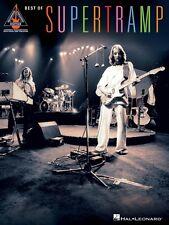Best of Supertramp Sheet Music Guitar Tablature Book NEW 000691072