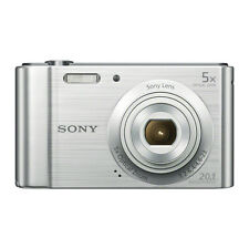 Sony DSC-W800 20.1 Megapixels Digital Camera+16GB card+carry case (Silver)