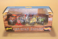MATTEL HOT WHEELS  OFF ROAD RACING SET OF 4   1/64 #MB9