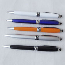 5x Capacitive Stylus & Retractable Ball Point Pen for iphone 7 6 6s 3 ipad 5 4