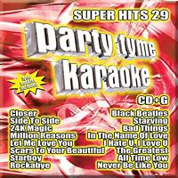 PARTY TYME KARAOKE CD - SUPER HITS 29 (2017) - NEW UNOPENED