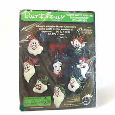 Christmas Craft Kit Snow White Seven Dwarfs Felt Needlecraft Walt Disney