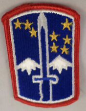 Us Army 172Nd Infantry Brigade Patch, Full Color Snow Hawks Uniform Patch #Mtrd