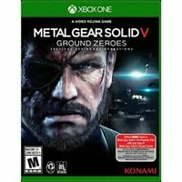 Metal Gear Solid V Ground Heroes - Original Microsoft Xbox One Game