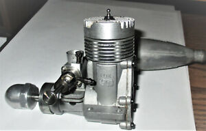 Fox 50 R/C model airplane engine vintage with original muffler