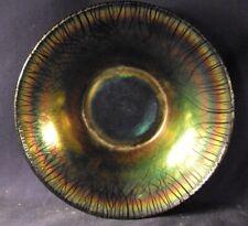 "Dugan Diamond Egyptian Lustre stretch glass bowl 7.5"""