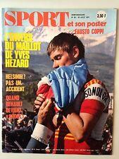 SPORT ET SON POSTER N°29 25 AOUT 1971 YVES HEZARD