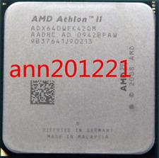 1PC AMD CPU Athlon II X4-640 3.0GHz Socket AM3 ADX640WFK42GM