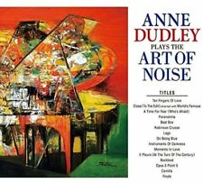 ANNE DUDLEY-PLAYS THE ART OF NOISE-JAPAN ONLY MINI LP CD+BOOK
