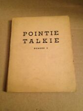 WWII English Chinese Pointie Talkie 5 Translation Book For Downed Pilots