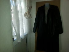 Woman Black full length PVC  Coat