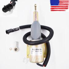 Fuel Shutoff Solenoid Valve 3930236 SA-4348-24 for Cummins 4BT 6BT 6CT NT855 K38