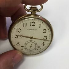 Longines 1911 Pocket Watch Caliber 17 Jewels GF