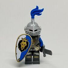 Lego minifigure Castle King Knight Armor With Lion Head 70404