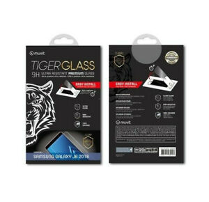 SAMSUNG GALAXY J6 2018 VITRE VERRE TREMPE TIGER GLASS 9H Muvit Premium