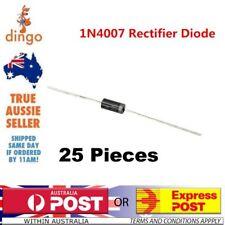25 Pieces DIODE RECTIFIER 1N4007 1000V 1A Original Melbourne Victoria