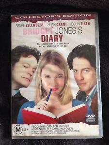 Bridget Jones's Diary dvd staring Renee Zellweger