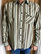 Men's Fat Face Long Sleeved Shirt - Size M/L Excellent Condition