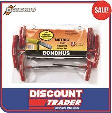 Bondhus 13387 Allen & Hex Wrenches - 8 Pieces