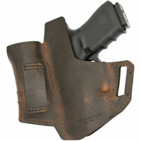 VersaCarry Commander OWB Holster With Mag Carrier Size 1 Brown Right Hand 62101