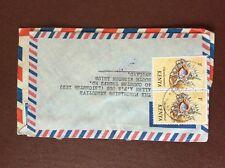 b1u ephemera stamped franked envelope airmail kenya 1/-