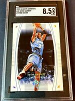 2003 UD SP AUTHENTIC LIMITED /100 KEVIN GARNETT SGC 8.5 #49