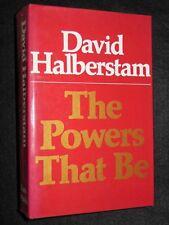 SIGNED; DAVID HALBERSTAM, The Powers That Be - 1979-1st, American Media/Politics