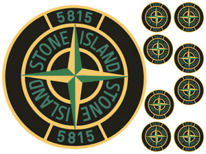 """STONE ISLAND 6"""" TO 10"""" ROUND CAKE EDIBLE ICING TOPPER"""