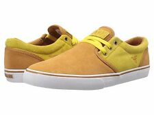 FALLEN 4003300616238 THE EASY Mn's (M) Camel/Dark Yellow Canvas Skate Shoes