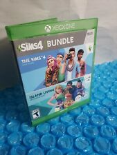 The Sims 4 Base Game Plus Island Living Expansion Pack Bundle