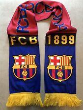 FC Barcelona Soccer Scarf New