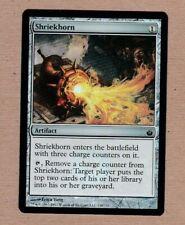MTG - Shriekhorn - Mirrodin Besieged - Common EX/NM - Foil Single Card
