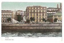 3209.-VIGO -Vista desde el muelle de piedra (Vicente Coma, Vigo)