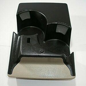 2001 01 02 00 Chevrolet Silverado Tahoe Yukon Sierra Console Cup Holder Rear OEM