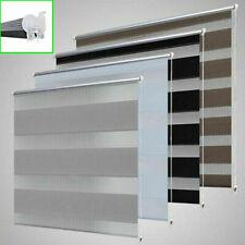 Doppelrollo Duo Rollo Klemmfix ohne Bohren für Fenster und Tür Fensterrollo
