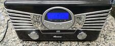 Memorex Brand Nostalgic AM/FM Radio CD Player with Turntable # 9271MMO 98721-1