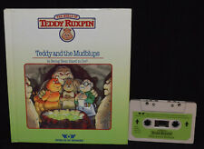 Teddy Ruxpin ~ BOOK & TAPE ~ Teddy and the MudBlups