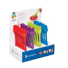 Colourworks by KithenCraft Brights  Assorted Coloured Silicone small