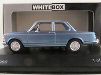 WhiteBox WB295 BMW 2002 ti (1968) in blaumetallic 1:43 NEU/OVP