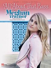 All About That Bass Sheet Music Piano Vocal Meghan Trainor NEW 000139389