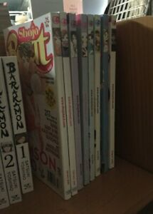Lot of 8 Shojo Beat Magazine 2006 Jan- Aug, Issue  New