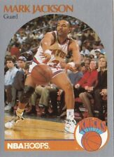 1990-91 NBA HOOPS MARK JACKSON WITH MENENDEZ BROTHERS IN BACKGROUND MUST SEE